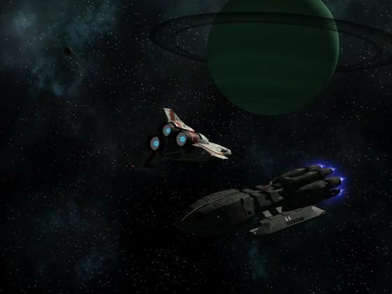 MkII Viper inbound to Pegasus
