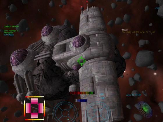 Base in asteroid field 02