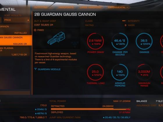Guardian Gauss Cannon