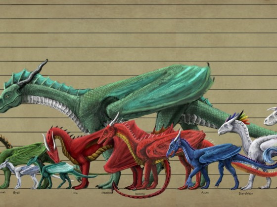 Dragon Size Reference Chart