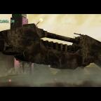 Pirate Train Landing on Planet Carinea