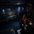 Inside of the Dolphin cockpit