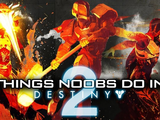 TOP TEN: Things Noobs Do 2!! Funny Destiny 2 Forsaken Bloopers, Fails, And More! (Hilarious!)