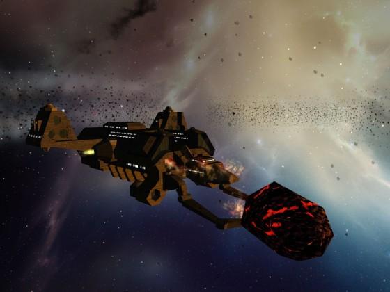 Mining in Omega-11