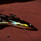 SRV returning to ship - Cutter