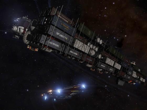 Cargo mega ship