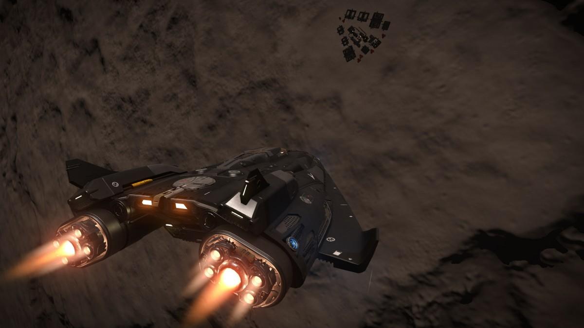 FDL approaching planet