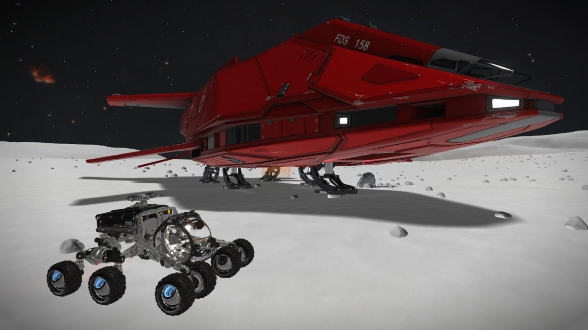 Horizons - SRV & Ship