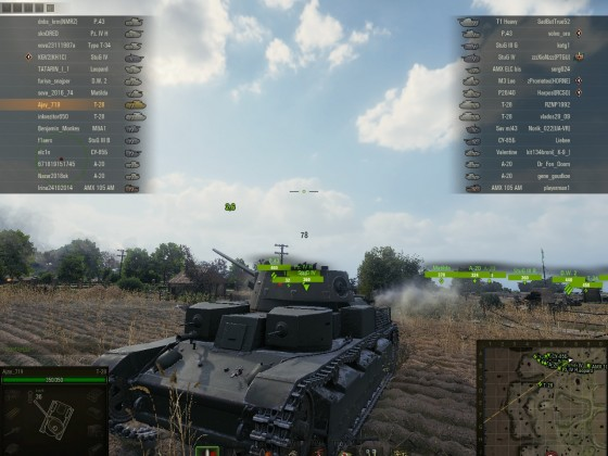 WoT: T-28 Outflank Move