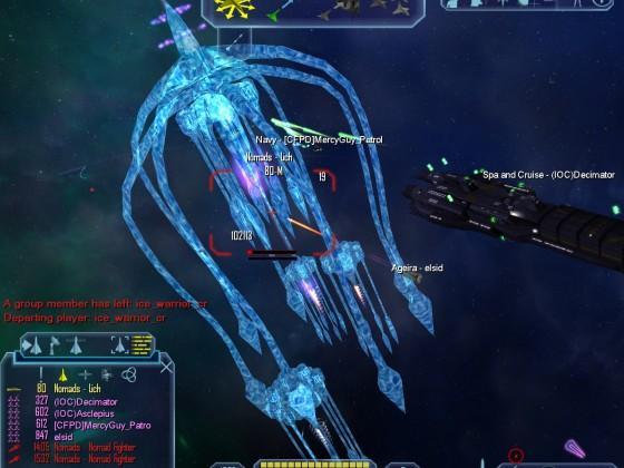 Nomad Strike Carrier & Nomad Battleship & Lich hunting event