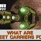 Elite Dangerous: What Are Fleet Carriers For? - A look at Fleet Carrier deployment into the game.