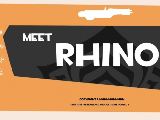 Meet Rhino | Warframe