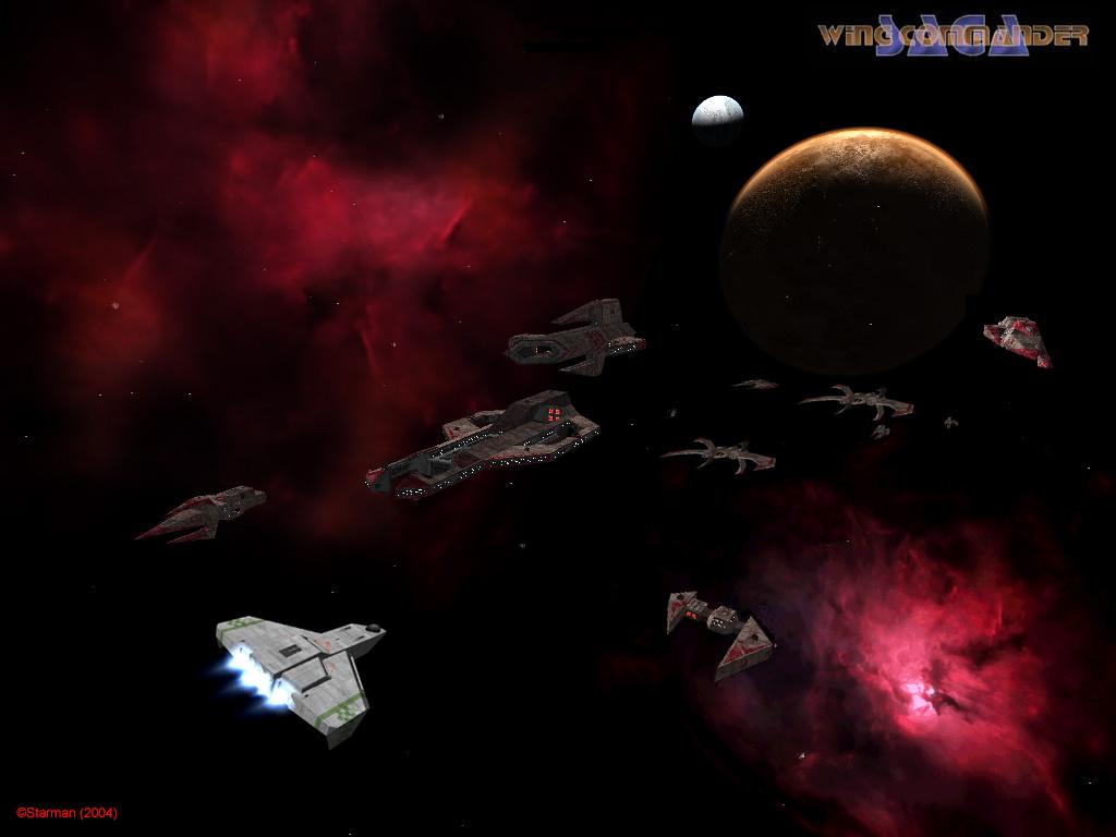 Kilrathi fleet encounter