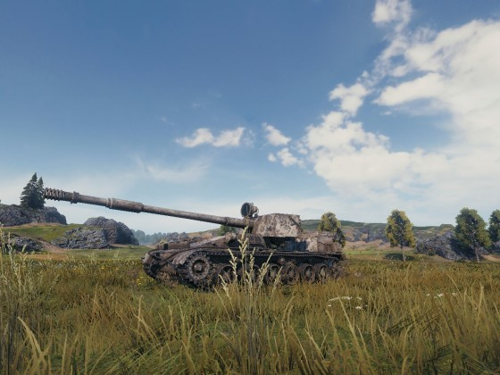 WoT Frontline - SU-130PM repositioning