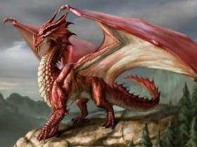 Chromatic Dragons- Red