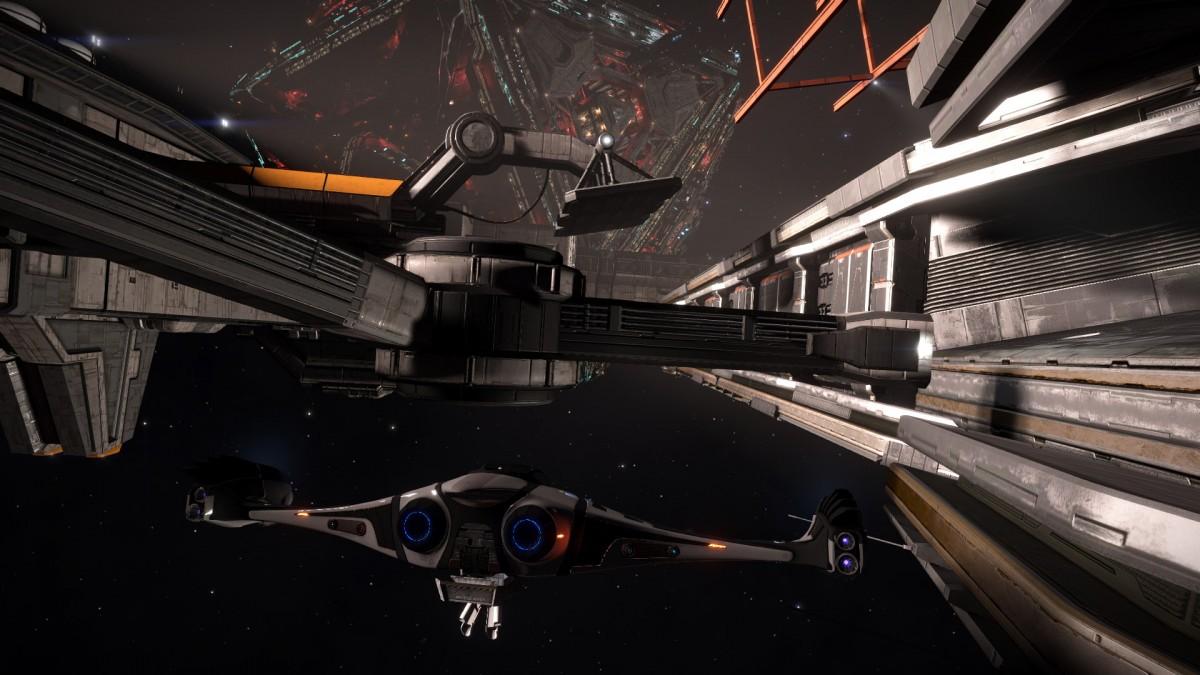 Ed 22 With Slf Inside Giant Space Dock Swat Portal