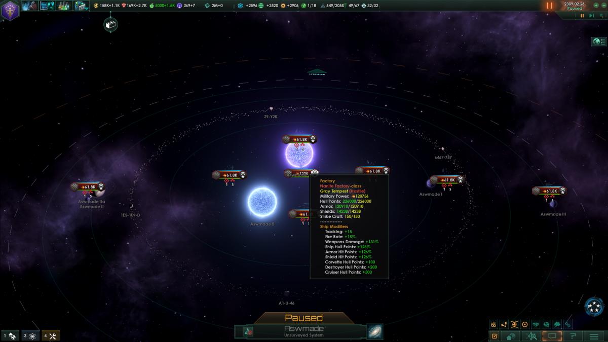 Stellaris: Nanite Homeworld, Distant Stars' new crysis