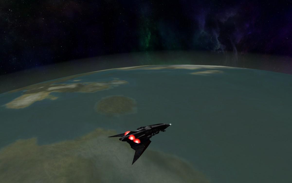 Quasar out of Fuel