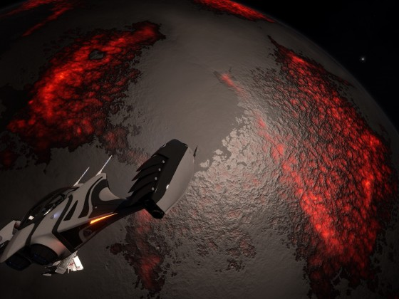 """Expedition """"Palin"""" - SLF above Heavy Metal World"""