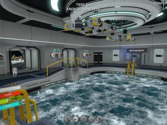 Subnautica base - moonpool 1
