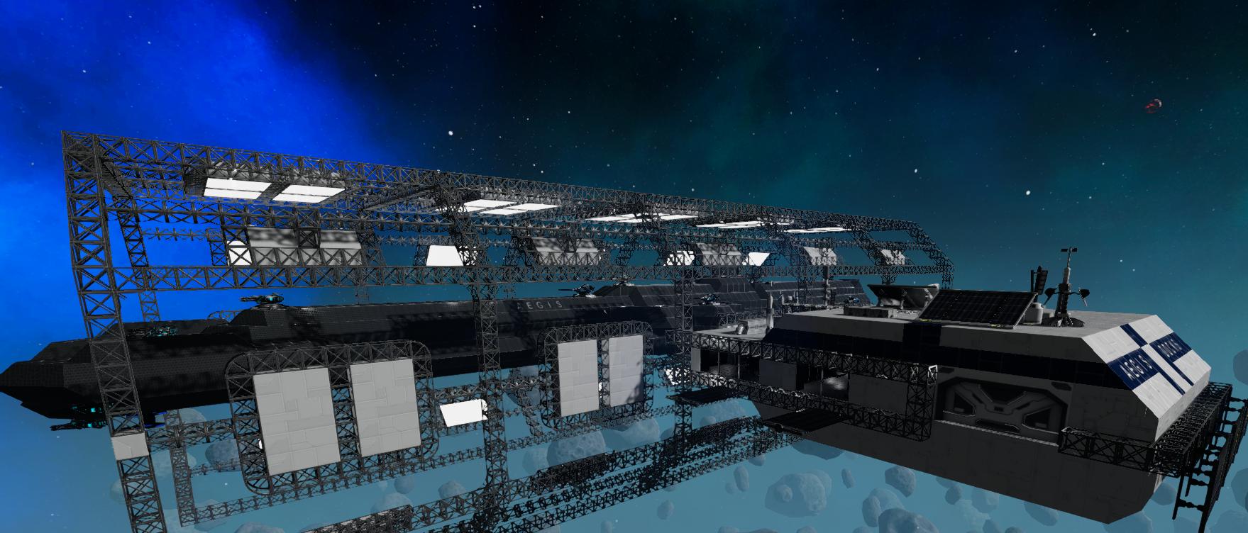 Empyrion: Galactic Survival Workshop Aegis Docks