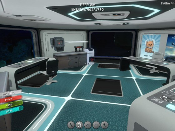 Subnautica base - laboratory