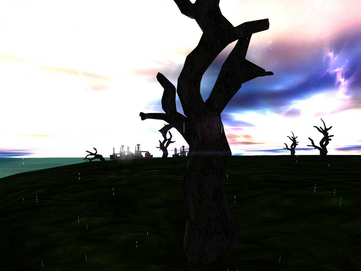 A tree on Planet Lost_Paradise.