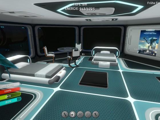 Subnautica base - crew quarters