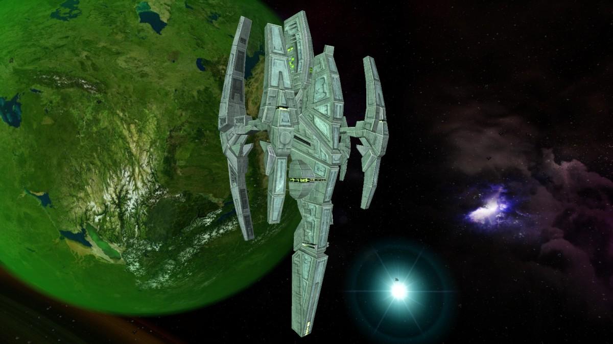 Devra Orbital Station