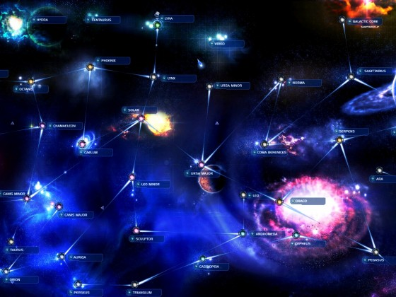 SpaceForce Universe Map