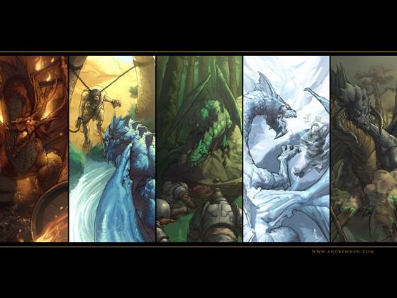 Dragonlance Chromatic Dragons