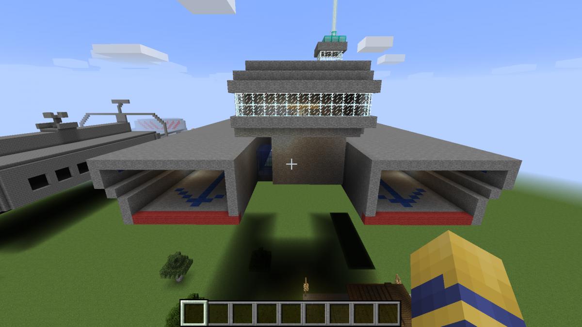 ANS Yamato & ANS Washington in Minecraft