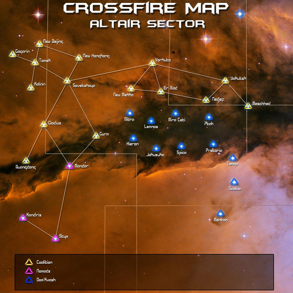 freelancer crossfire карта систем