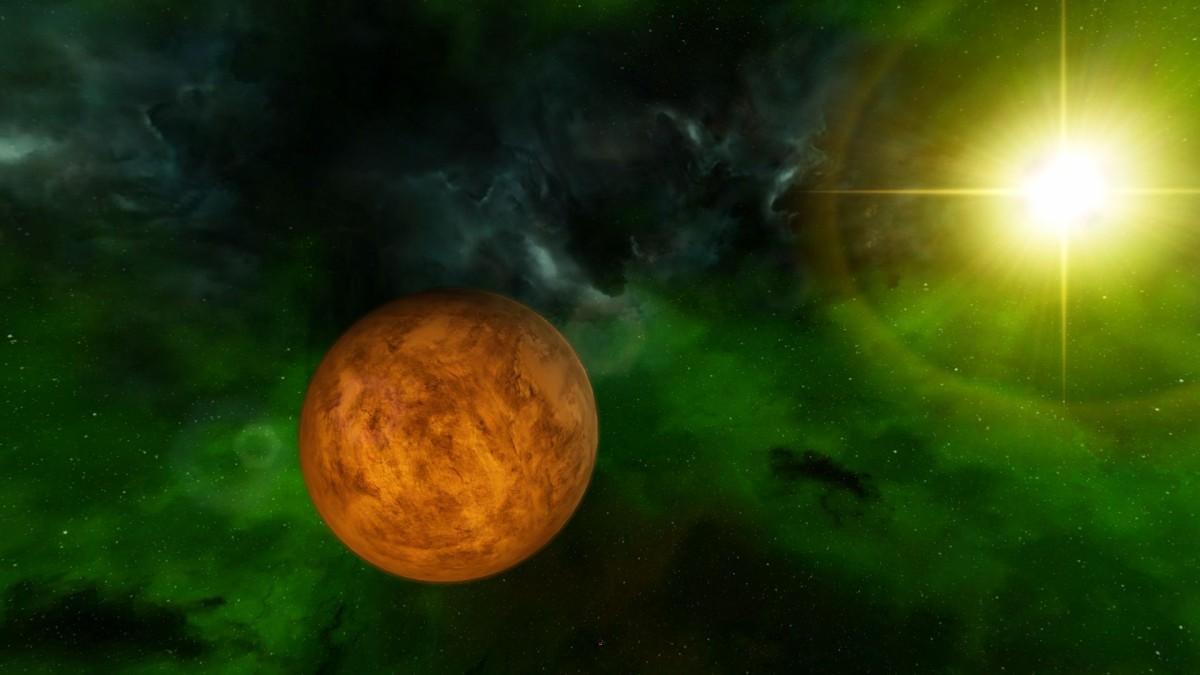 Planet Pygar in Omicron Theta