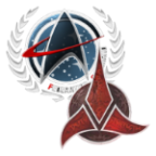 Federation and Klingon Fleet Icon