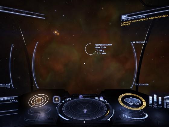 Pleides Nebula