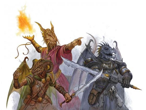 3 Draconians