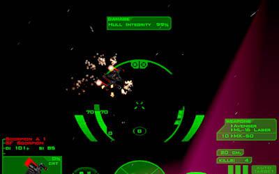 SF Scorpion exploding