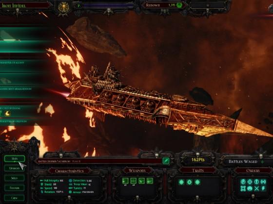 Acheron Class Heavy Cruiser