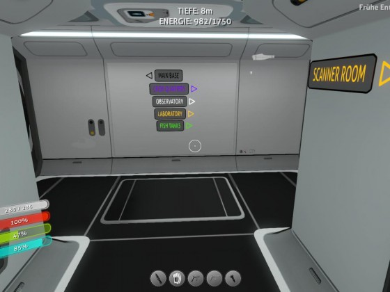 Subnautica base - corridor