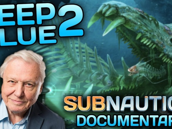 Subnautica - 'Deep Blue 2' | A Nature Documentary Narrated by David Attenborough - THE LOST RIVER