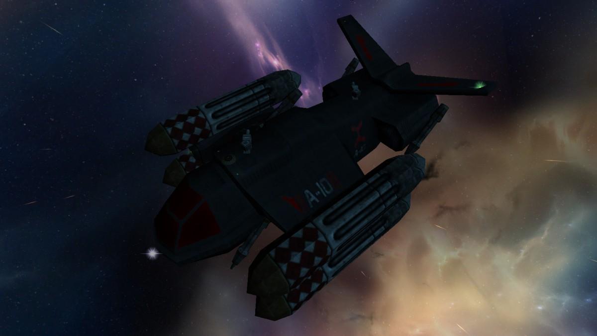 Libra Tower - Level 04 - 1st ship Blackburn bomber