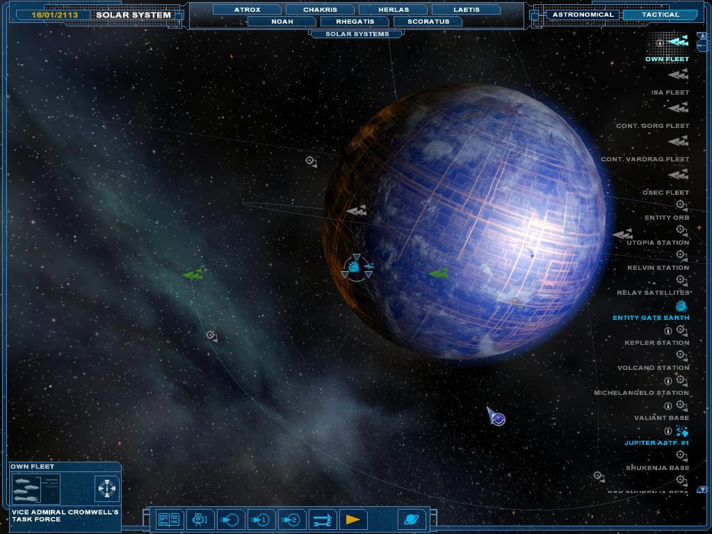 Mechanoid Earth
