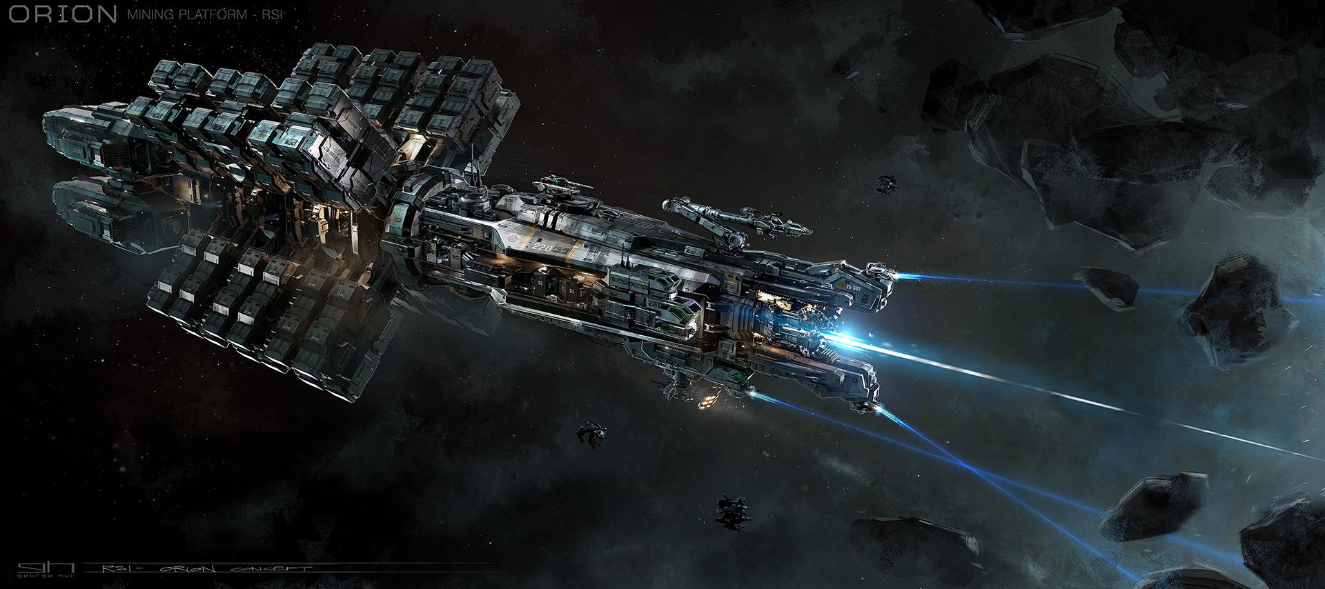 SC: Rugged Colossus - Orion Mining Platform