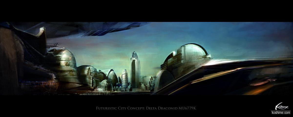 Draconid city