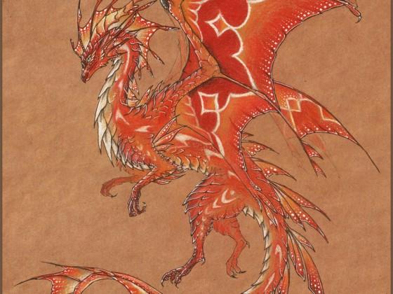 Tropical Fire Dragon