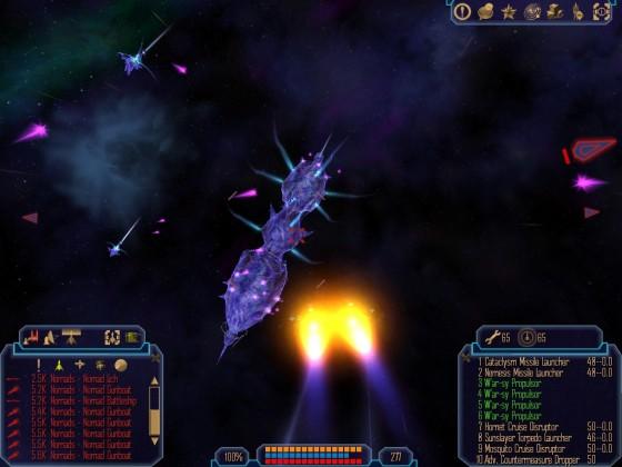 Nomad battleship