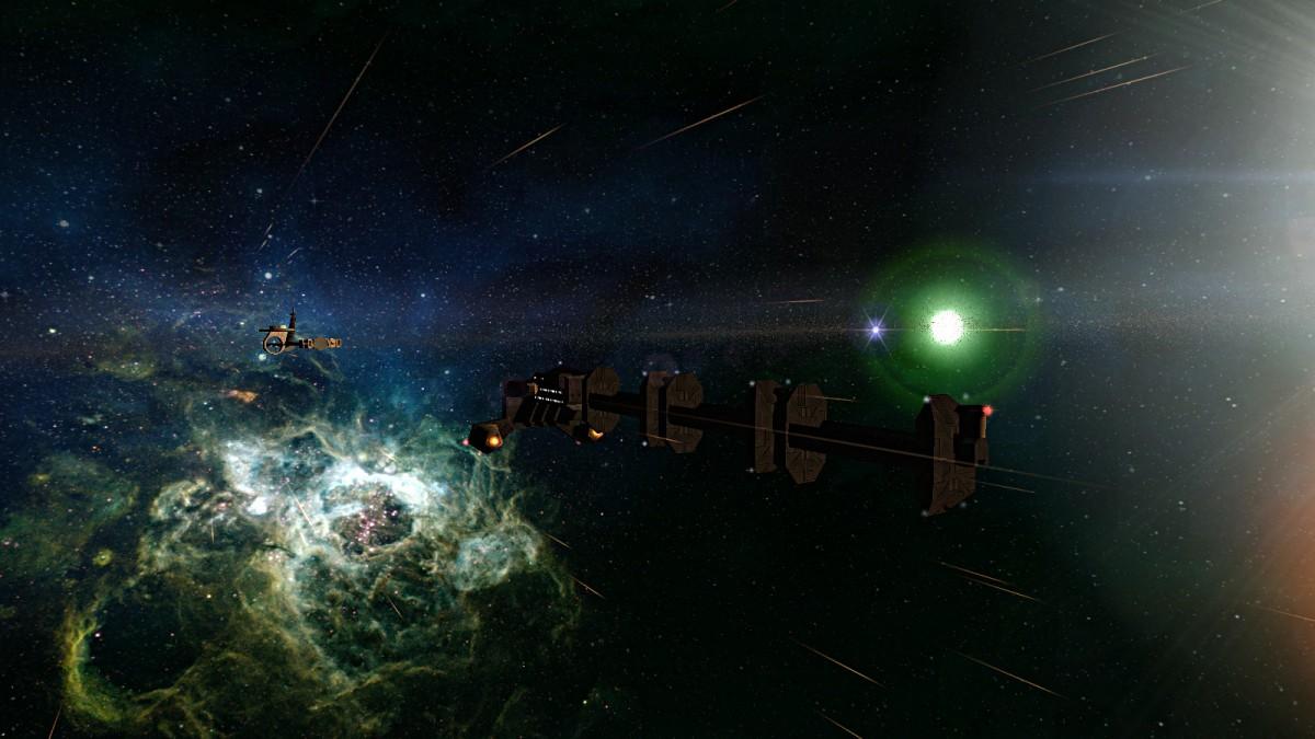 Enroute to Outpost Epsilon
