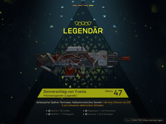 First Legendary