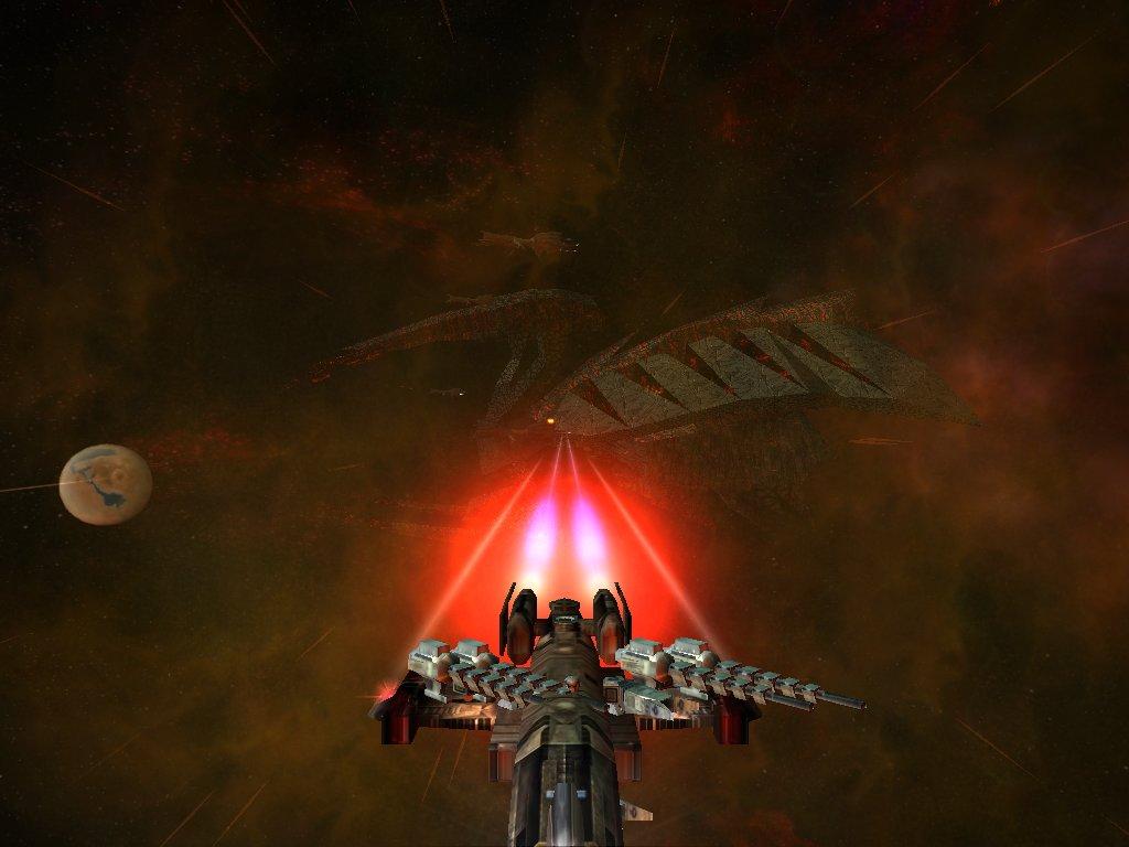 FreeSpace 2 Colossus: SJ Sathanas (SJ=Shivan Juggernaut
